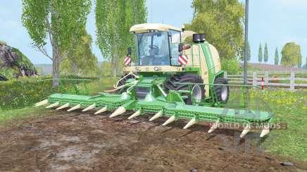 Krone BiG X 1100 silage tank для Farming Simulator 2015