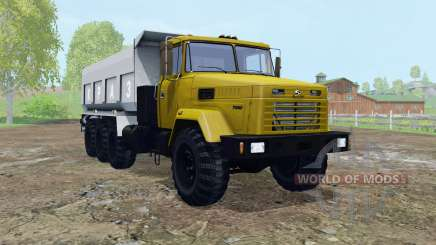 КрАЗ-7140С6 подвижные элементы для Farming Simulator 2015