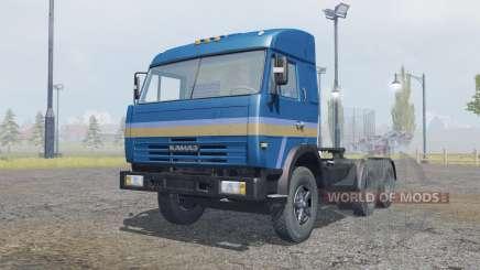 КамАЗ-54115 тёмно-синий окрас для Farming Simulator 2013