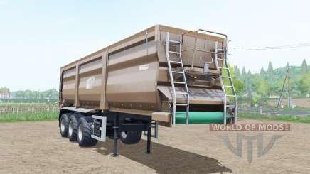 Krampe Sattel-Bandit 30-60 pale taupe для Farming Simulator 2017