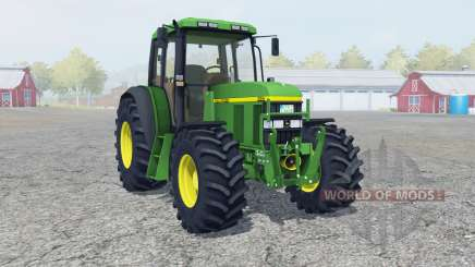 John Deere 6610 FL console для Farming Simulator 2013