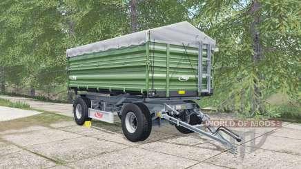 Fliegl DK 180-88 may green для Farming Simulator 2017
