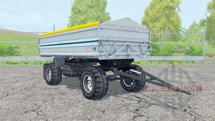 Fortschritt HW 80 pastel blue для Farming Simulator 2015