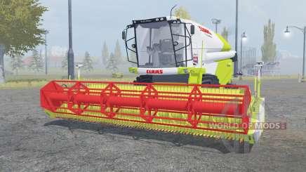Claas Tucano 440 with header для Farming Simulator 2013