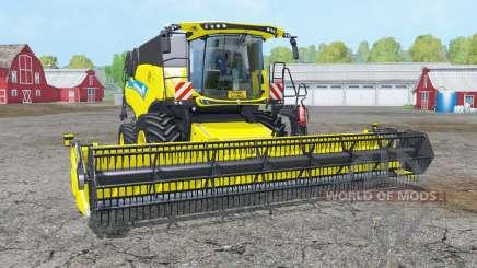 New Holland CR9.90 white & yellow rims для Farming Simulator 2015
