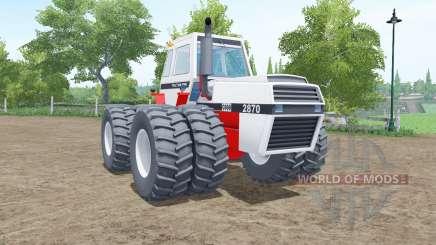 J.I. Case 2870 Traction King для Farming Simulator 2017