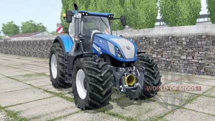 New Holland T7.315 Blue Power 2015 для Farming Simulator 2017