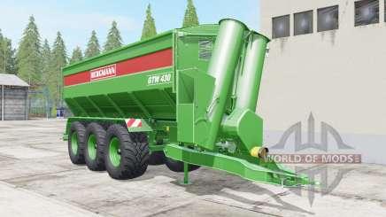 Bergmann GTW 430 multifruit для Farming Simulator 2017