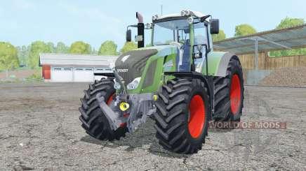 Fendt 828 Vario double wheels для Farming Simulator 2015