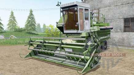 Енисей 1200-1М травяной окрас для Farming Simulator 2017
