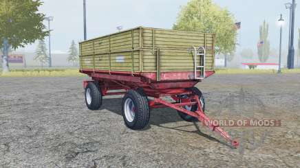 Krone Emsland yuma для Farming Simulator 2013