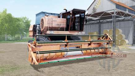 Дон-1500А мягко-оранжевый окрас для Farming Simulator 2017