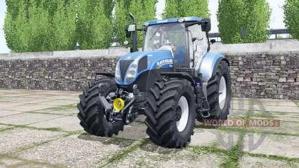 New Hollanɗ T7.185 для Farming Simulator 2017