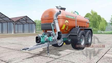 Zunhammer SKE 18500 PU brown для Farming Simulator 2017