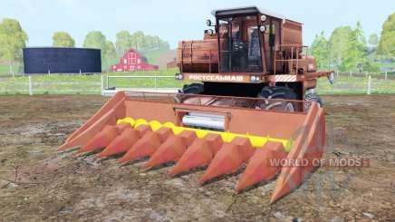 Дон-1500А подвижные элементы для Farming Simulator 2015