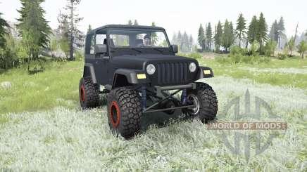 Jeep Wrangler (TJ) 2006 lifted для MudRunner