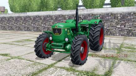 Deutz D 80 05 A munsell green для Farming Simulator 2017