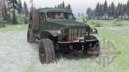 Dodge WC-53 Carryall (T214) 1942 для Spin Tires