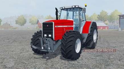 Massey Ferguson 8140 added wheels для Farming Simulator 2013