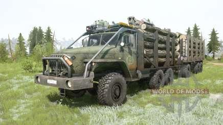 Урал-4320-10 6x6 для MudRunner