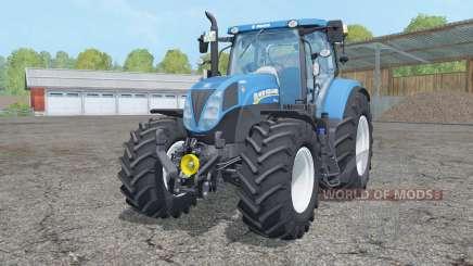 New Holland T7.210 animated element для Farming Simulator 2015
