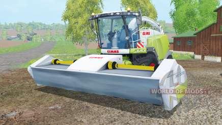 Claas Jaguar 980 with cutters для Farming Simulator 2015