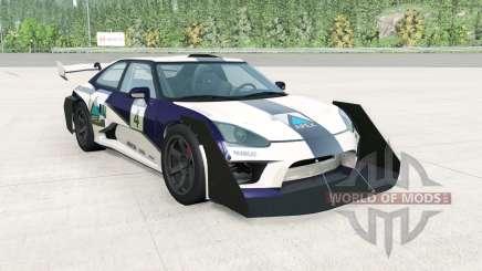 Hirochi SBR4 GT Widebody v1.1 для BeamNG Drive