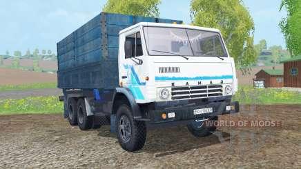 КамАЗ-53212 белый окрас для Farming Simulator 2015