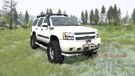 Chevrolet Tahoe (GMƬ900) 2007 для MudRunner