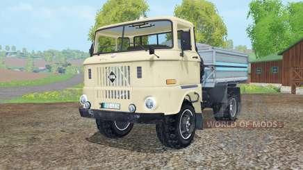 IFA W50 L kipper для Farming Simulator 2015