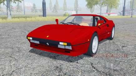Ferrari 288 GTO 1984 для Farming Simulator 2013