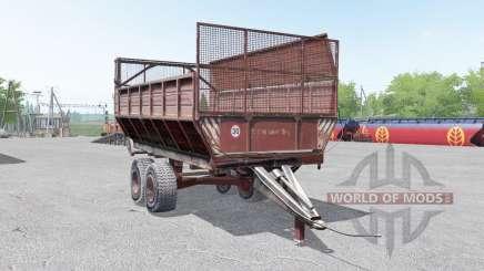 ПИМ-40 серовато-красный окрас для Farming Simulator 2017