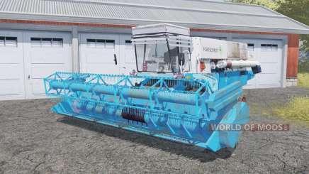 Fortschritt E 516 with header для Farming Simulator 2013