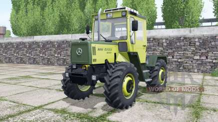 Mercedes-Benz Trac 800 more configurations для Farming Simulator 2017