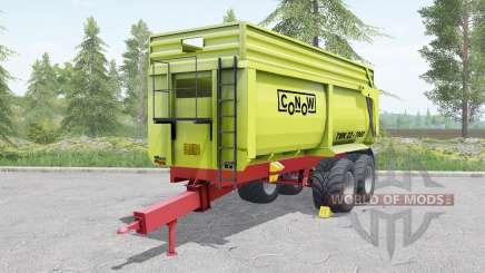 Conow TMK 22-7000 yellow-green для Farming Simulator 2017