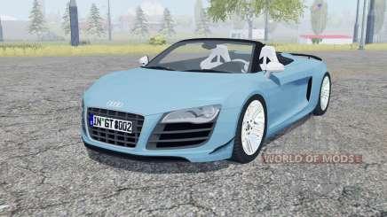 Audi R8 GT Spyder 2011 для Farming Simulator 2013