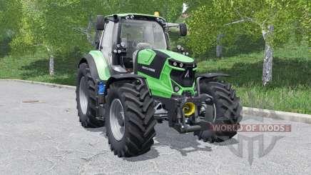 Deutz-Fahr 6 TTV Agrotron wheels selection для Farming Simulator 2017