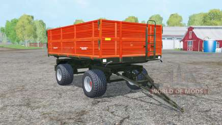 Ursus T-610-A1 vivid orange для Farming Simulator 2015