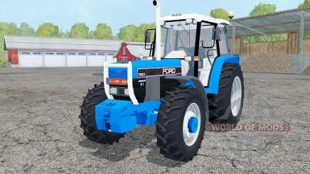 Ford 7840 dual rear wheels для Farming Simulator 2015