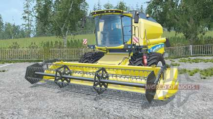 New Holland TC5.90 twin wheels для Farming Simulator 2015