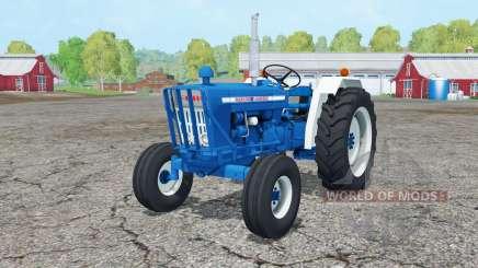 Ford 5000 1965 front loader для Farming Simulator 2015