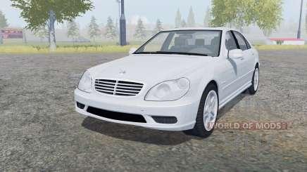 Mercedes-Benz S 65 AMG (W220) 2005 для Farming Simulator 2013