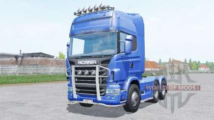 Scania R730 Topline 6x4.2 для Farming Simulator 2017