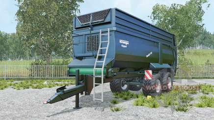 Krampe Bandit 750 yankees blue для Farming Simulator 2015