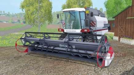 Vector 410 светло-серовато-синий окрас для Farming Simulator 2015