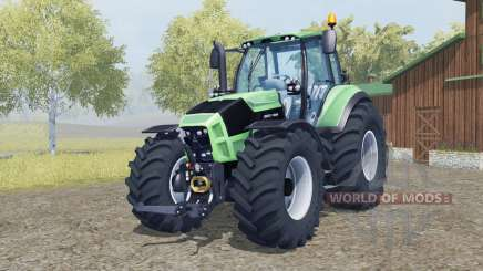 Deutz-Fahr 7250 TTV Agrotron added wheels для Farming Simulator 2013