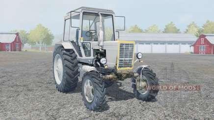МТЗ-82.1 Беларус светло-серый окрас для Farming Simulator 2013