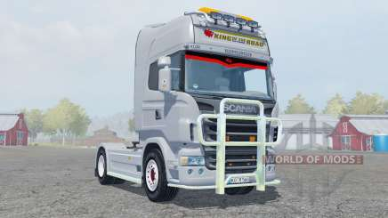 Scania R560 Highline gray для Farming Simulator 2013