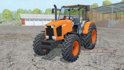Kubota M135GX 2012 для Farming Simulator 2015
