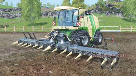 Krone BiG X 1100 black cutters для Farming Simulator 2015